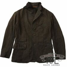 $690 RRL RALPH LAUREN YARN DYED COTTON JASPÉ SPORT COAT JACKET-MEN- M