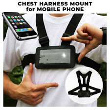 Use Your Mobile Phone as Action Cam Body Chest Harness Mobile Case Holder Sports