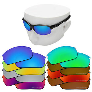 OOWLIT Replacement Lenses for-Oakley Commit SQ Sunglasses Polarized Etched