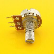B50K Ohm Linear Taper Rotary Potentiometer Pot 15mm Shaft 3 Pins
