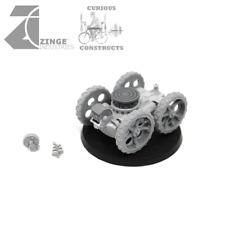 Zinge Industries Steampunk Pneumatic Wheeled Mobile Gun Platform only S-ART07