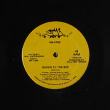 MANTUS: Boogie To The Bop / Slidin' To The Music 12 Soul