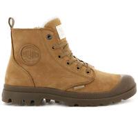 Palladium Pampa Hi Zip WL W Damen Winter Boots 95982-717 Leder Stiefel gefüttert