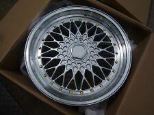 "16""dare rs silver Alloy Wheels Vw/Vauxhall/Toyota/Suzuki/Honda/Kia/Ford/bmw e30"