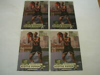 1997-98 SCOTTIE PIPPEN METAL UNIVERSE CARD #85 LOT OF 4 MINT CONDITION
