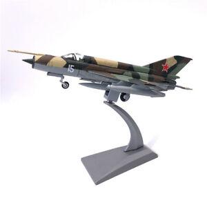Wltk USSR Soviet Air Force MIG-21 Multirole Fighter 1/72 Diecast Model