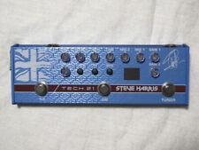 Used Tech 21 Steve Harris Signature Sansamp Bass Guitar Preamp Pedal