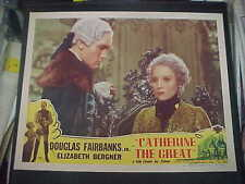 CATHERINE THE GREAT, reissue 1947 LC #4 [Dougls Fairbanks Jr, Elizabeth Bergner]