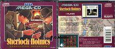 SEGA - Mega-CD - Sherlock Holmes Consulting Detective - MegaCD - PAL