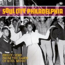 SOUL CITY PHILADELPHIA Various Artists NEW  60s SOUL CD (FANTASTIC VOYAGE) R&B