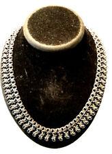 Art Deco Silber und Markasiten Collier Halsband