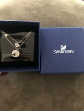 Signed Swarovski Wishes Crystal Necklaces New in Box 5272247 NWT