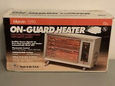 Vintage New Marvin 1590 On-Guard Radiant Heater Open Box