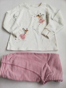 Pair of Girls Next Pyjamas with Fairy Age 4-5
