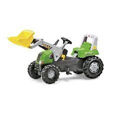 Rolly Toys rollyLader RT mit Frontlader JuniorLader Traktor Tretttraktor grün