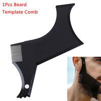 Men'S Beard Combs Shaping Styling Trim Template Stencil Comb Beards Comb Tool HF