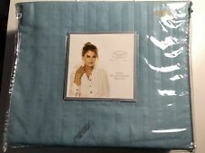 Kathy Ireland Home Queen Premium Striped Sheet Set Light Teal Microfiber