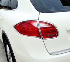 IDFR Porsche Cayenne 2011-2014 chrome tail lamp frame, rear lamp bezel