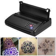 Profesionale Tattoo Transfer Copier Stampante Termica Stencil Maker Nero