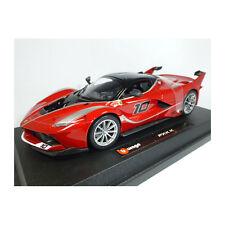 Bburago 26301 Ferrari FXX-K #10 rouge foncé échelle 1:24 voiture miniature NEUF! °