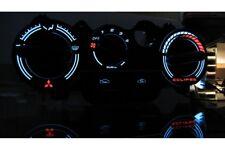 Mitsubishi Eclipse 2G - heater control panel glow gauge plasma dials tachoscheib