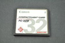 Canon FC-32M 32MB Compact Memory Flash CF Card  DH9202