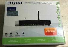 Netgear DGN1000 N150 Wireless ADSL2+moderm Router FREE SHIPPING