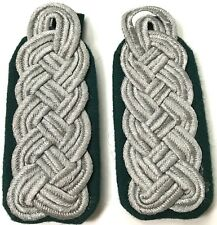 WWII GERMAN HEER SR. OFFICER TUNIC SHOULDER BOARDS-PANZERGRENADIER V. #1