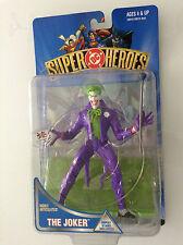 "DC SUPER HEROES THE JOKER 6"" FIGURE DISPLAY STAND HASBRO 1999 DC(BATMAN REBORN 1"
