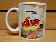 300ml COFFEE MUG, HEINKEL TOURIST SCOOTER