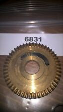 ABU 503 & 505 CLOSED FACE REEL MODELS MAIN GEAR & SPACER. ABU REFERENCE 6831