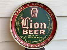 Lion Brewey Beer Tray 13' Pie Wilkes-Barre Pa