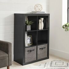 Better Homes and Gardens 6-Cube Organizer Black