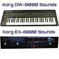 Korg DW-8000, EX-8000 Largest Sound Collection