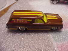 Hot Wheels Mint Loose Hershey's 5th Avenue 70 Chevelle Delivery with Real Riders