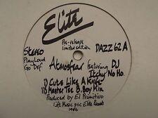 ATMOSFEAR FEAT DJ ITCHY NO HO - CUTS LIKE A KNIFE (PROMO, LIMITED EDITION)