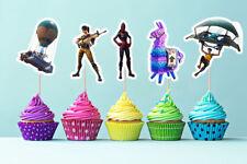 Fortnite Cake Toppers, Fortnite Cupcake Topper