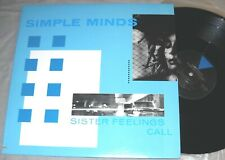SIMPLE MINDS Sister Feelings Call VINYL LP promo record 1st US Press album NM/EX