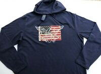 Ralph Lauren Polo Men XXL US Flag Eagle cotton Hoodie Pullover Shirt NEW