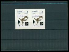 Spain dinosaur dinosaure dinosaurios-Custom Stamp-only 1 pair mnh made! cm34