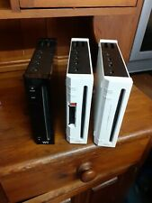 Nintendo Wii Consoles Only x 3 Joblot faulty disc drive