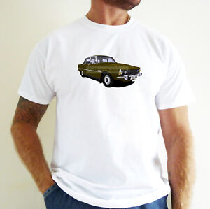 ROVER P6 CAR ART T-SHIRT. PERSONALISE IT!