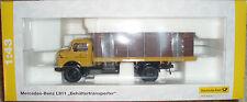 Premium ClassiXXs 1:43 Mercedes MB L911 Box Container Transporter Flatbed Truck