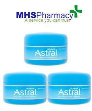 3x Astral Original Face And Body Moisturiser 50ml Moisturising Cream Moisturizer