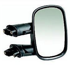 FIAT DOBLO 2001-2010 CABLE / MANUAL  BLACK DOOR WING MIRROR RH RIGHT O/S DRIVER