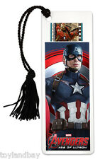 Film Cell Genuine 35mm Marvel's Avengers Age of Ultron Captain America Bookmark