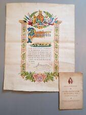More details for ww1 abergavenny presentation to military army 1919 programme & souvenir poster