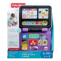 FISHER PRICE LAUGH & LEARN CLICK & LEARN INTERACTIVE LAPTOP TOY
