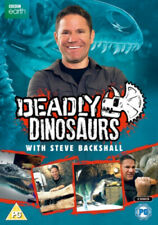 Deadly Dinosaurs With Steve Backshall [Regions 2,4] - DVD - New - Free Shipping.
