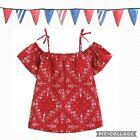 Girls size 10 OshKosh B'gosh 4th Of July, Patriotic/summer,Americana, Paisley